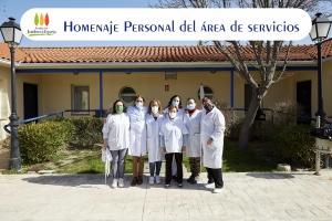 Homenaje personal del área de servicios