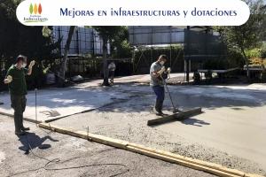 Mejora en infraestructuras y dotaciones
