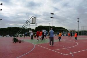 Jornada deportiva y barbacoa 2014